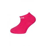 2a8f19a419c Dětské bambusové kotníkové ponožky Bambik (tmavě růžová)