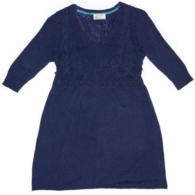 Dámské oblečení tričko z konopí Konopná tunika Lovelace indigo
