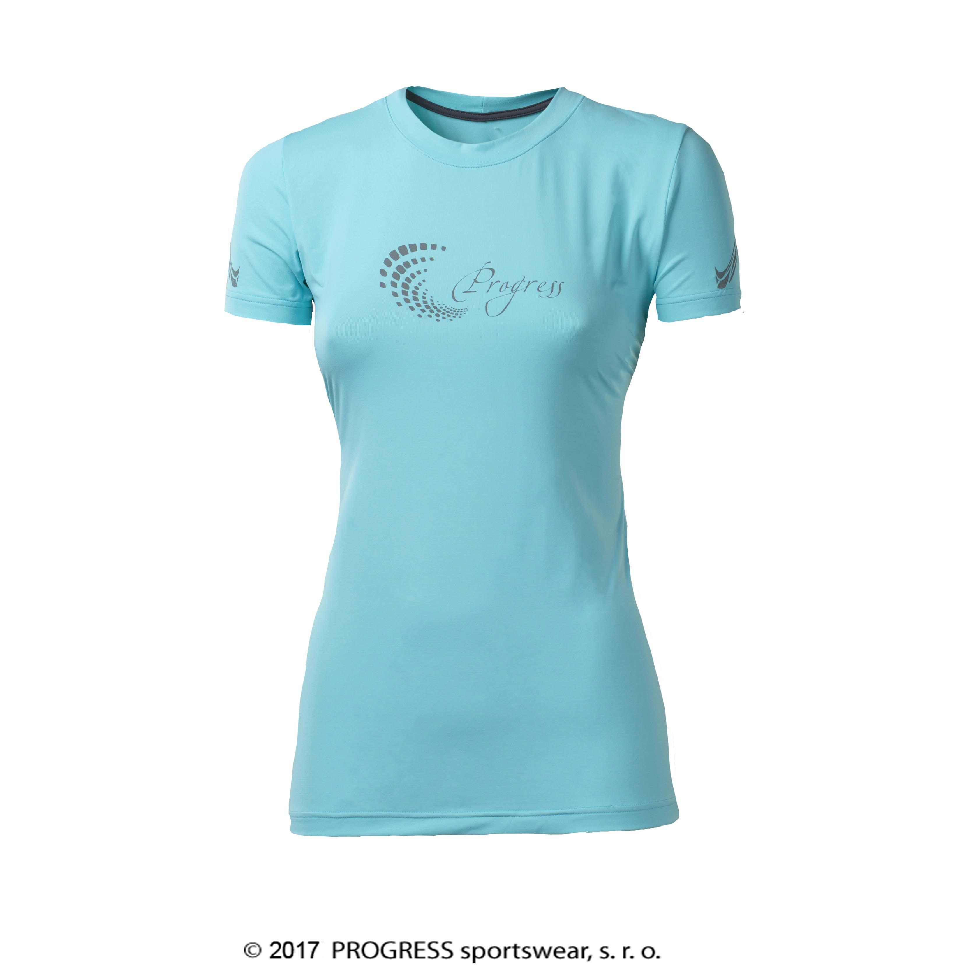 PANTERA dámské sportovní tričko (modrá) 397162e730