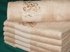 Ručníky Bambusový ručník kávový