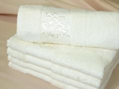 Ručníky Bambusový ručník bílý