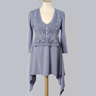 Dámské oblečení šaty z konopí Lockhart Dress šedé