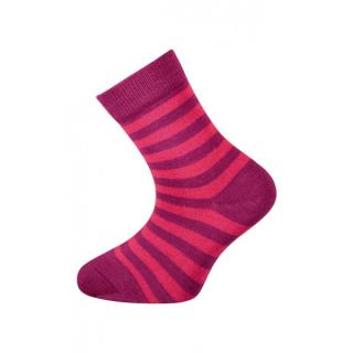32552892421 Dětské bambusové ponožky Babar (červená)